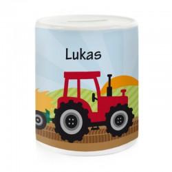 Spardose - Traktor