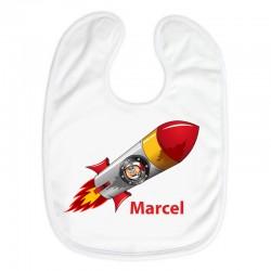 Lätzchen - Eulen Astronaut