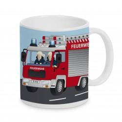 Tasse Feuerwehr