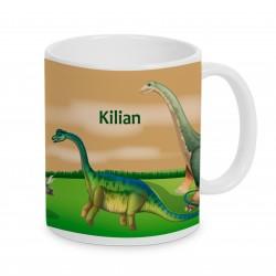 Tasse Dinosaurier
