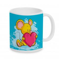 Tasse Mäuseherzchen