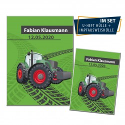 U-Heft SET - Traktor Grün