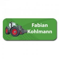 Namensaufkleber -  Traktor...