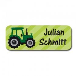 Namensaufkleber - Traktor