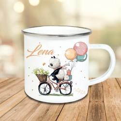 Tasse - Panda Fahrrad
