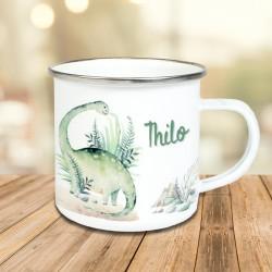 Tasse - Dinos Aquarell