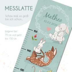 Messlatte - Rehe & Hasen