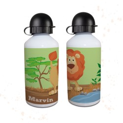 Trinkflasche - Safari Löwe
