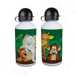Trinkflasche - Dschungeltiere