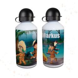 Trinkflasche - Indianer