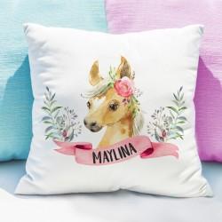 Kissenhülle - Pony Aquarell