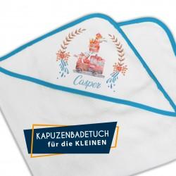 Kapuzenbadetuch - Feuerwehr...