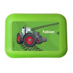 Brotdose - Traktor Grün
